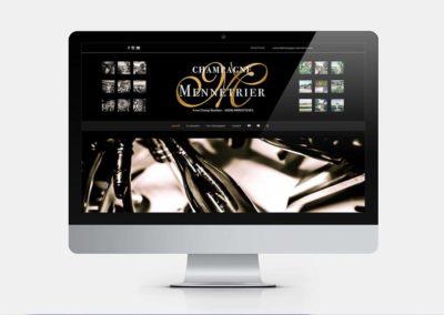 Site web – Champagne Mennetrier