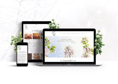 Site web – Natur'eau Amandine