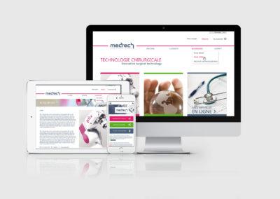Webdesign – Medtech