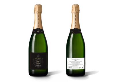 Habillage Champagne – Royal Hainaut
