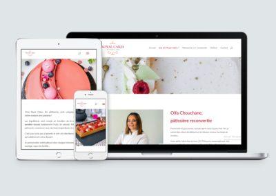 Site web – Royal Cakes