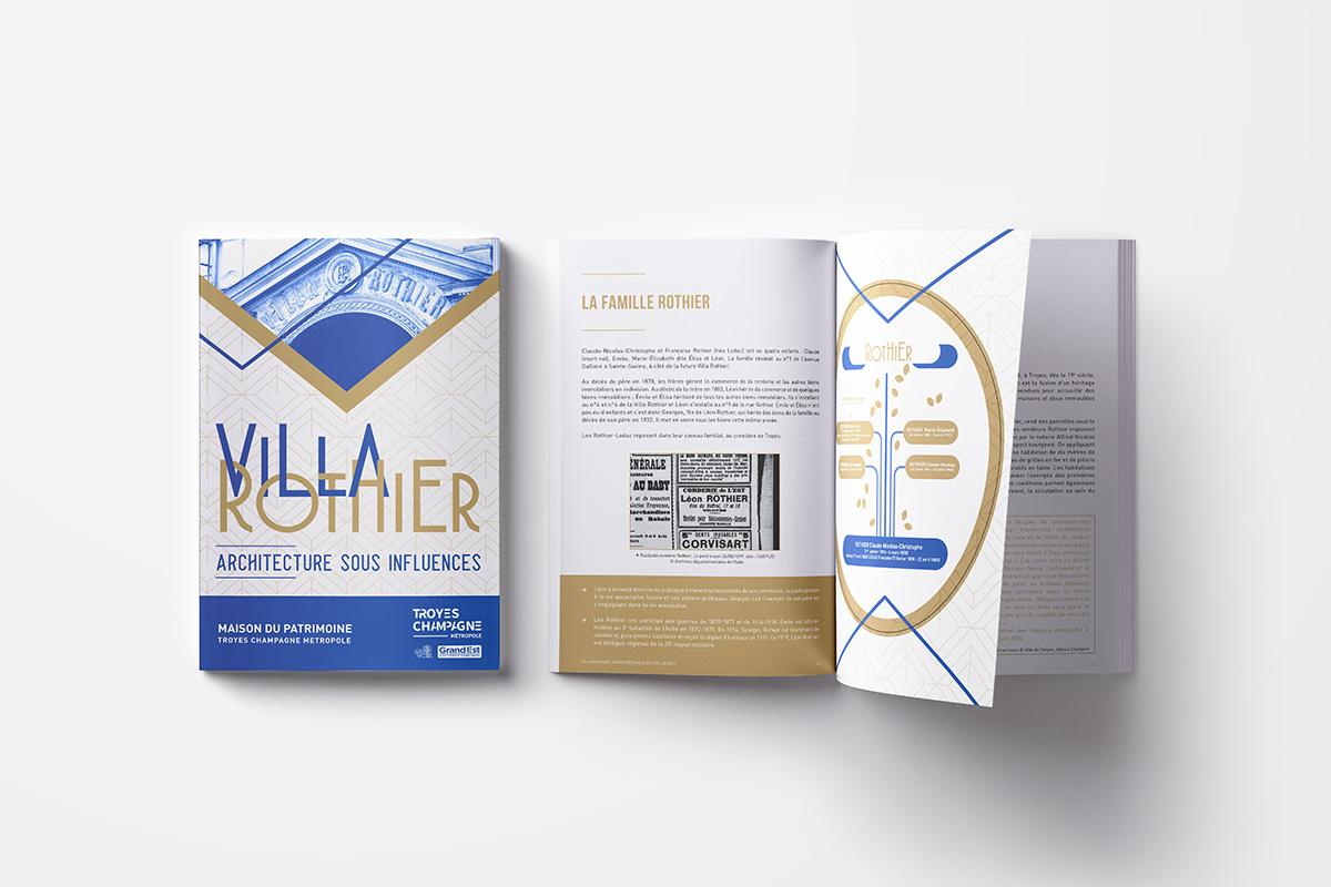 création catalogue livret graphiste troyes