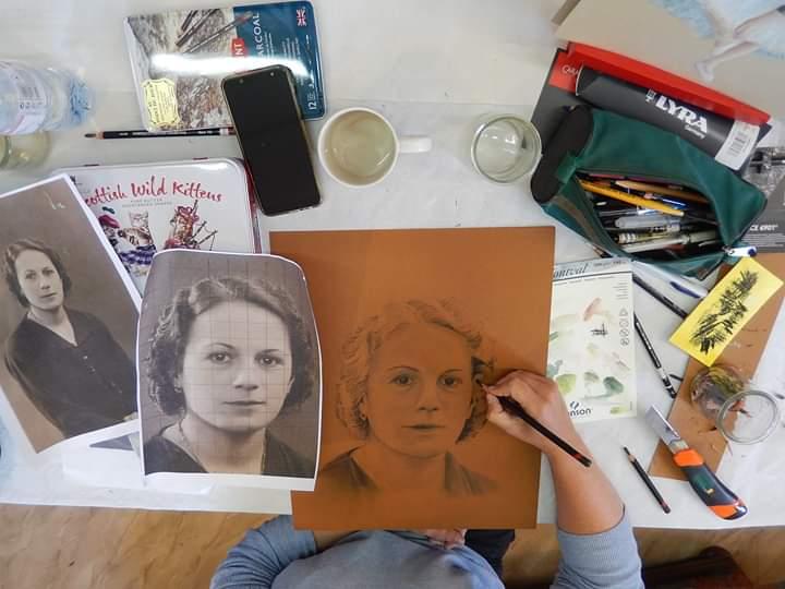 illustration portrait photo troyes
