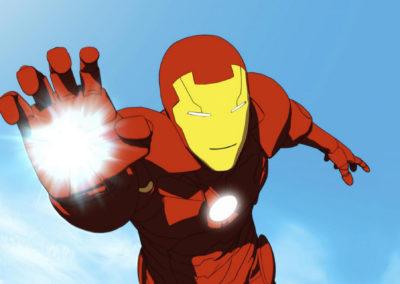 compositing – Iron Man