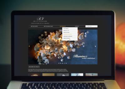 Webdesign – Art et Floritude