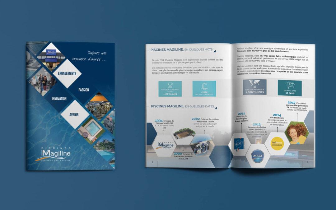 Brochure Corporate – Piscines Magiline