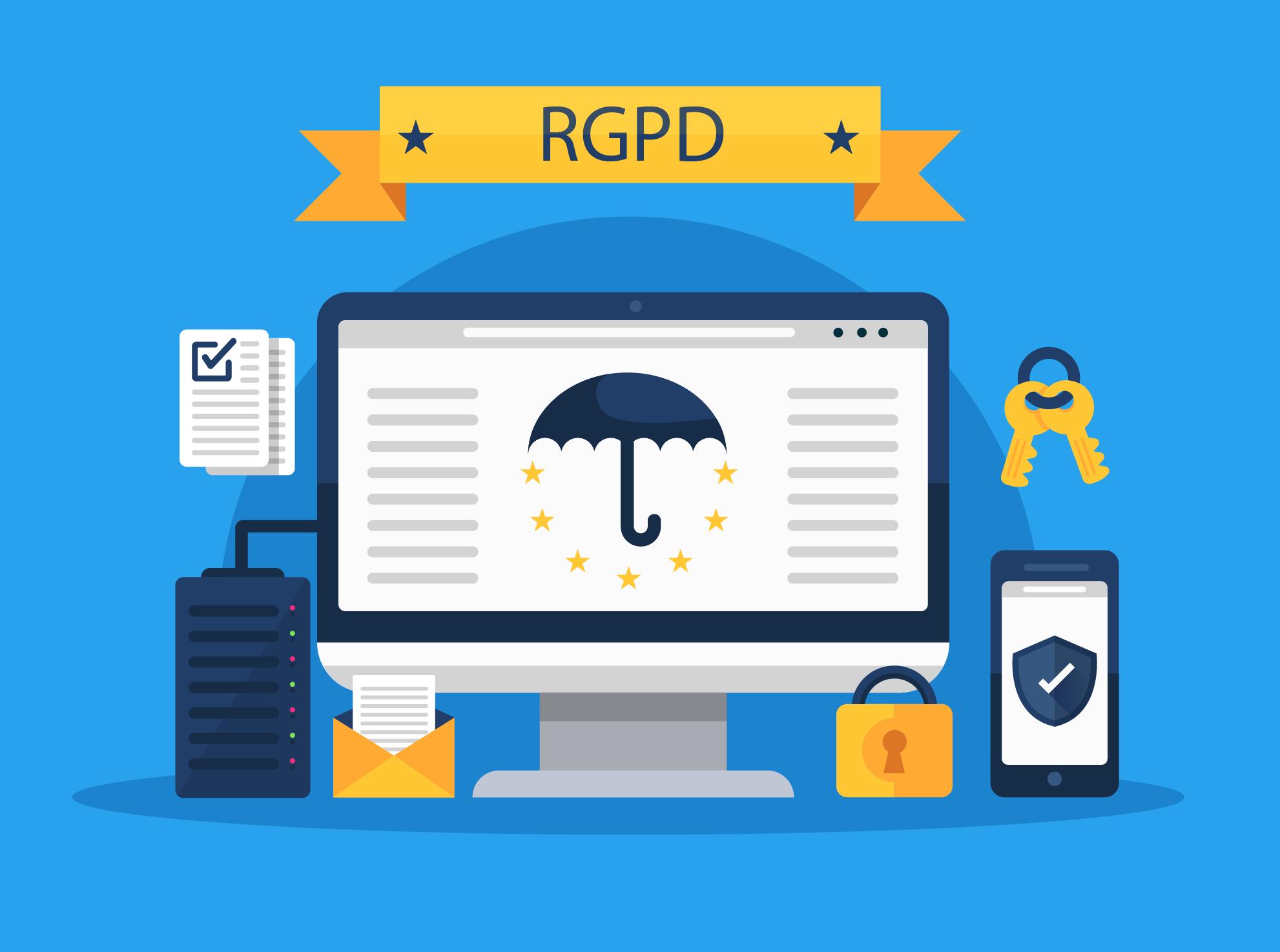 norme rgpd site web