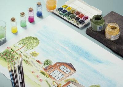 Illustrations aquarelle – Ecolotis