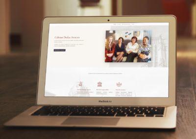 Cabinet Dufau – Site Web